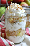 Overnight Apple Crisp Parfait