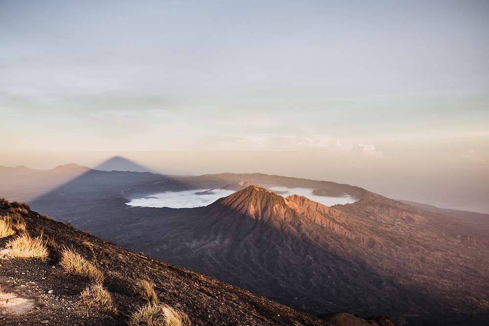 Sunrise on Mont Batur