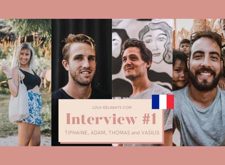 [FR] Interview #1 : Les Créatifs Avec Qui Je Voyage