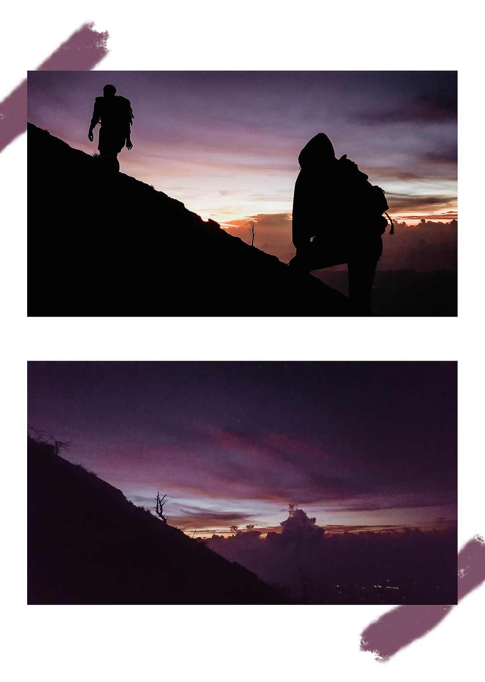 Climbing Agung Volcano at night