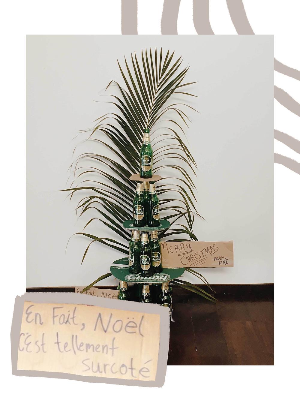 Beer-mas tree in Pai