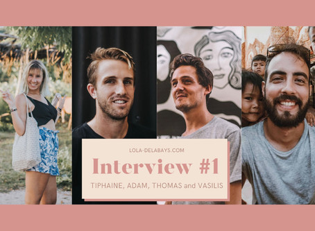 Interview #1 : My Creative Travel Buddies