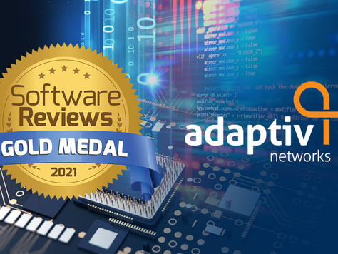 Adaptiv Networks Named a Gold Medalist in the 2021 SoftwareReviews SD-WAN Data Quadrant Buyers Guide