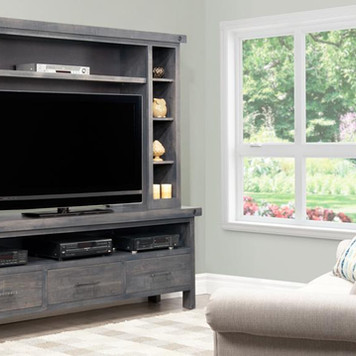 Bring The Theatre To Your Living Room With A Solid Wood TV Unit