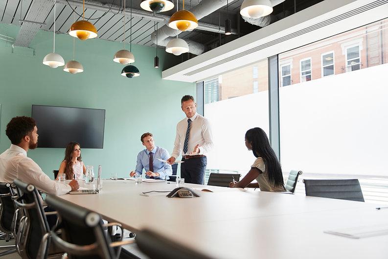 mature-businessman-giving-boardroom-pres