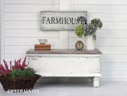 Von der alten Truhe zum Couchtisch im Farmhouse Style
