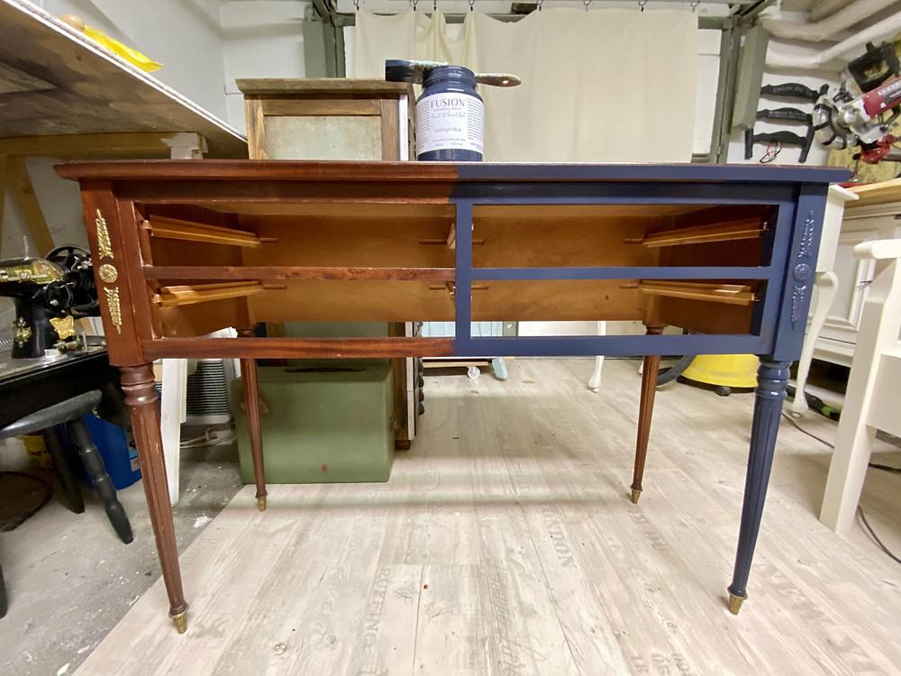 Möbel streichen mit Mineralfarbe Fusion Mineral Paint