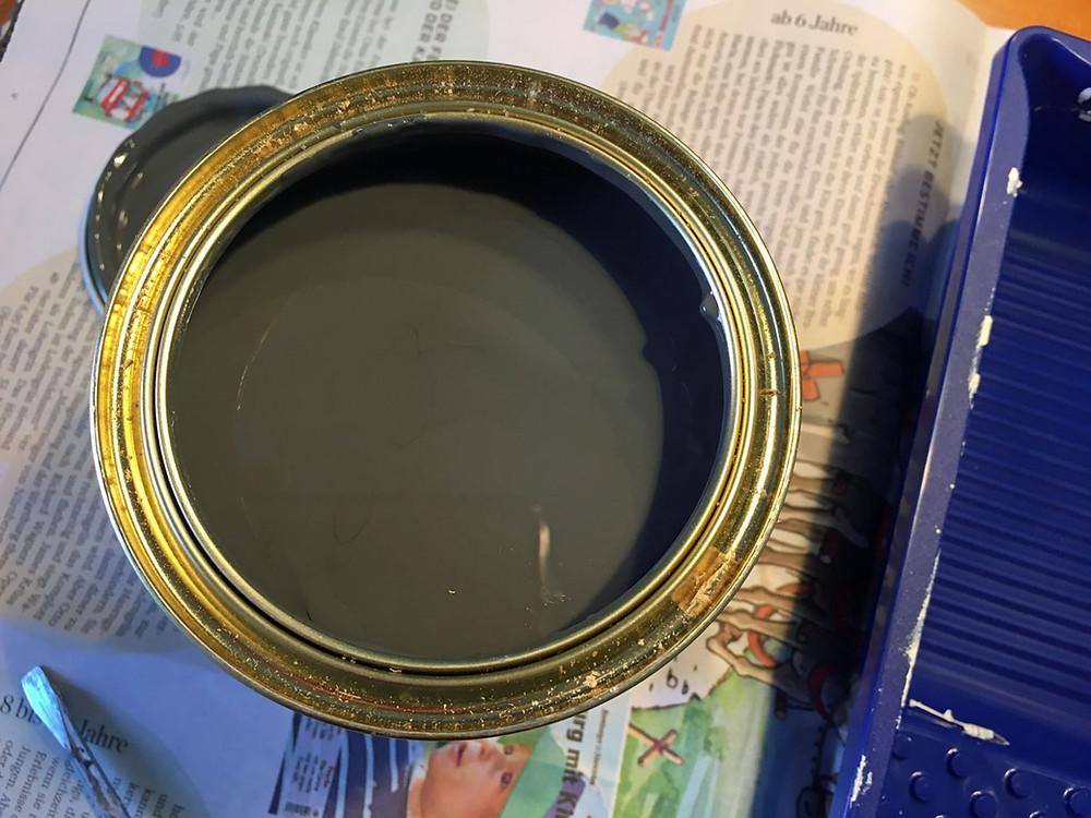Kreidefarbe von Painting the Past für die Haustür