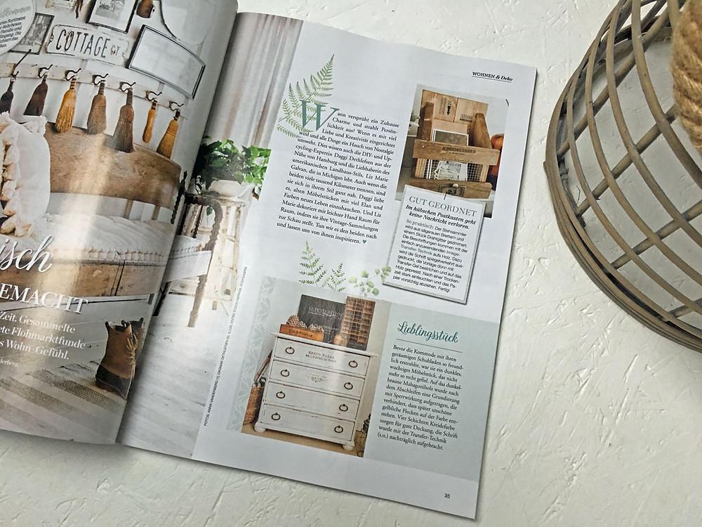 Feature gonepaintin im aktuellen Traumwohnen Magazin
