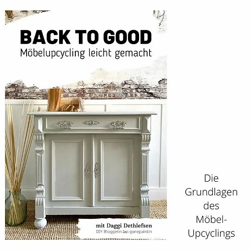 """EBook """"BACK TO GOOD"""""""