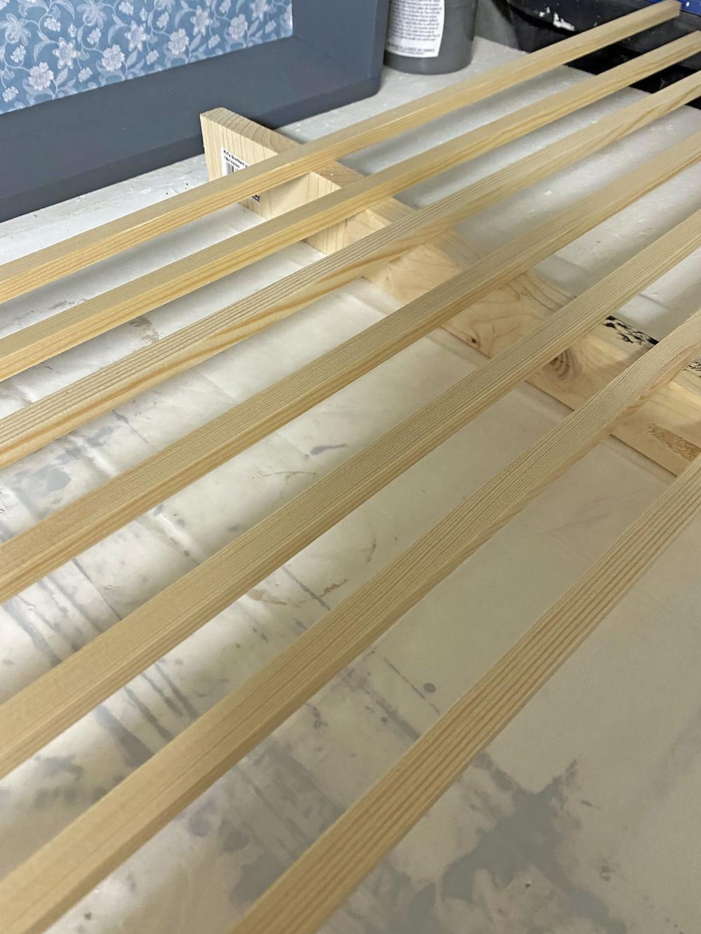 Vierkantleisten für DIY Sprossentür
