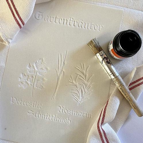DIY Giftbox Schablone