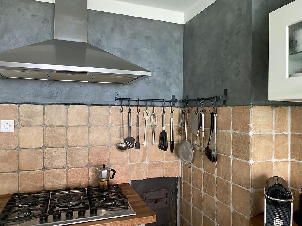 Küche im industrial style