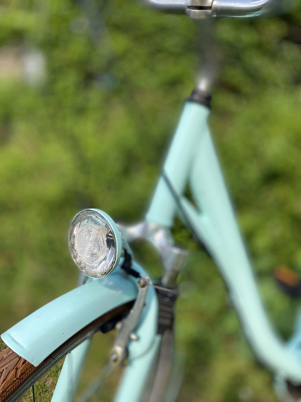 Fahrrad streichen mit Fusion Mineral Paint