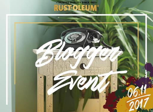 DIY Blogger Event von Rust-Oleum