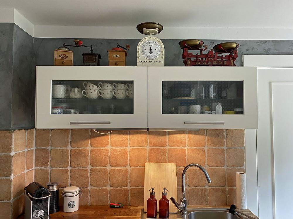 Kranzleiste für den Küchen Oberschrank