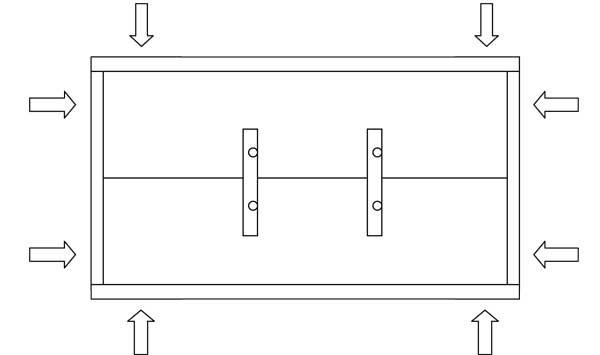 Skizze Bauanleitung Holzschild