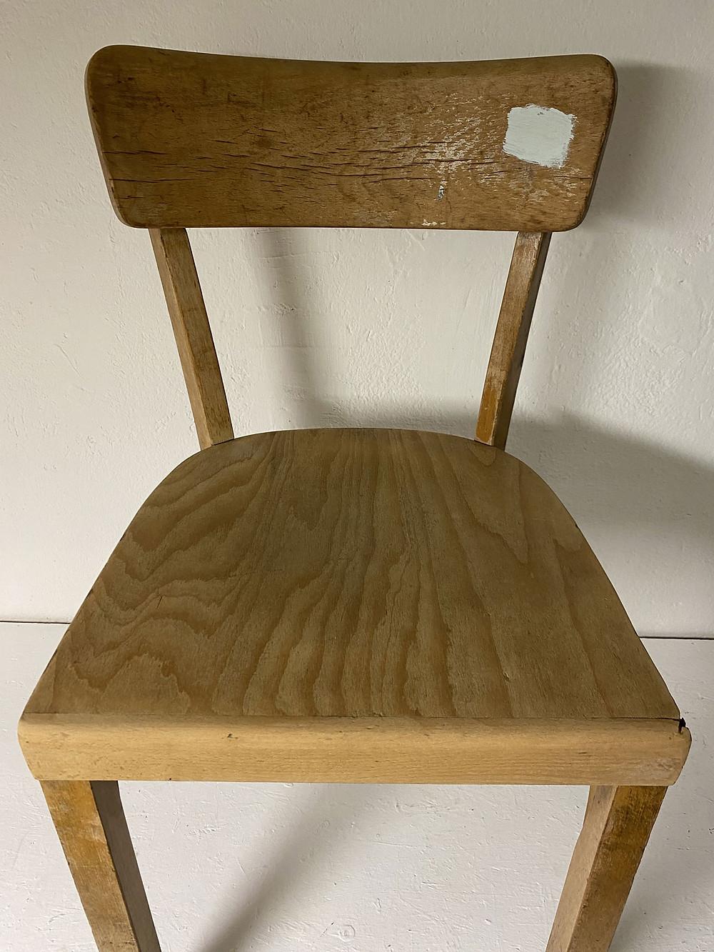 Frankfurter Stuhl abschleifen