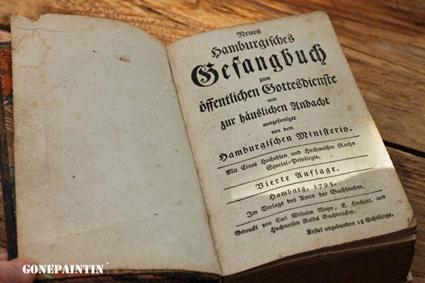 Gesangsbuch von 1795