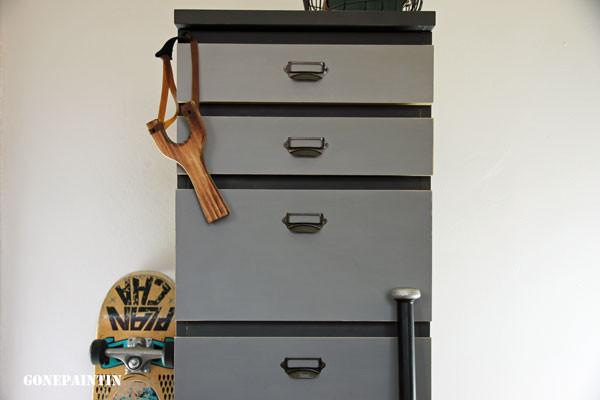 Schubladenschrank Detail