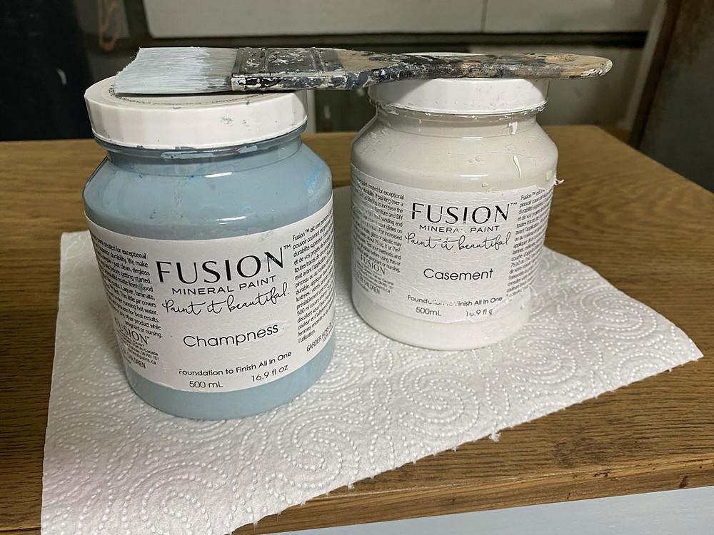Fusion Mineral Paint Champness und Casement