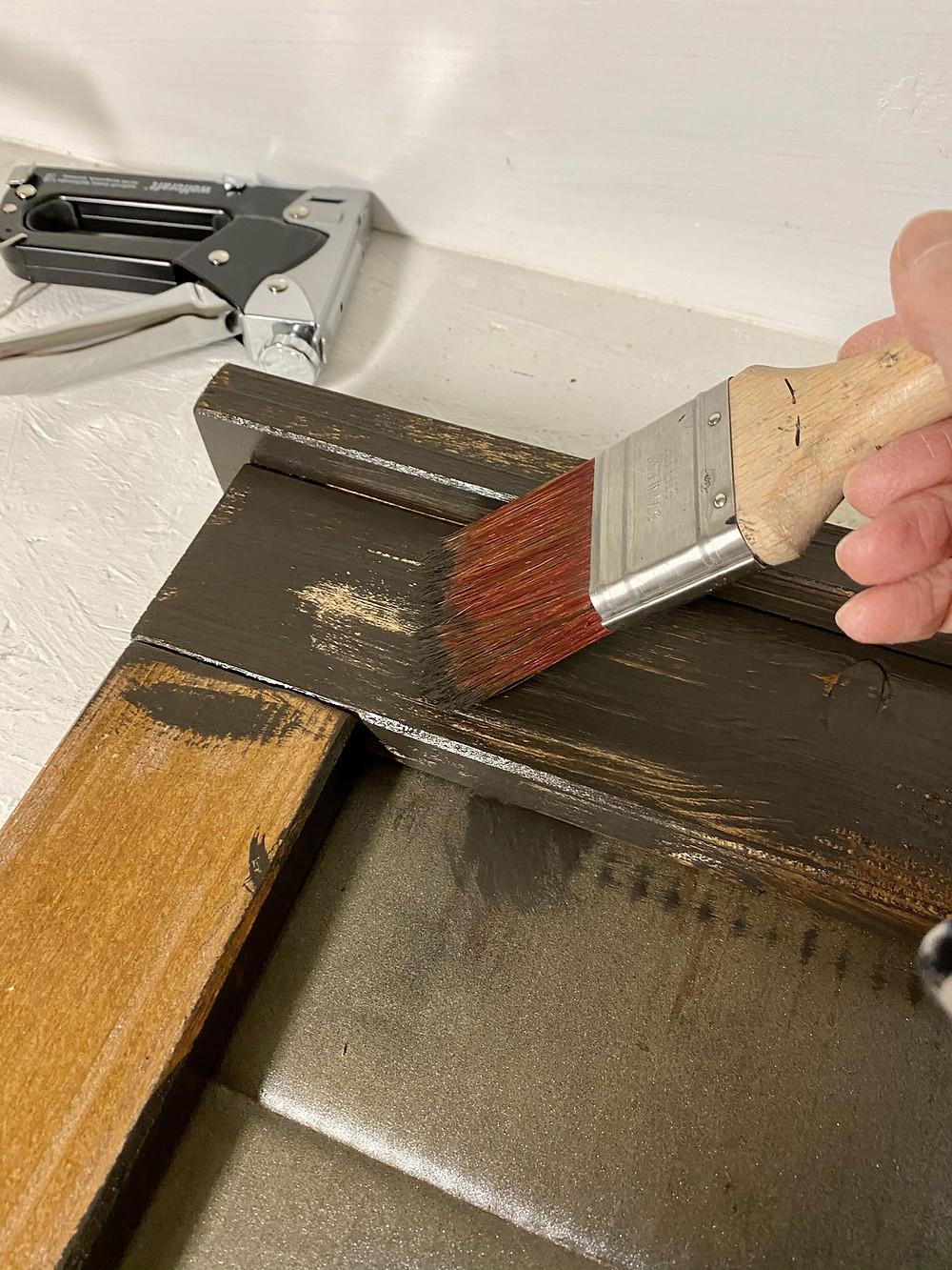 Wandorganizer streichen