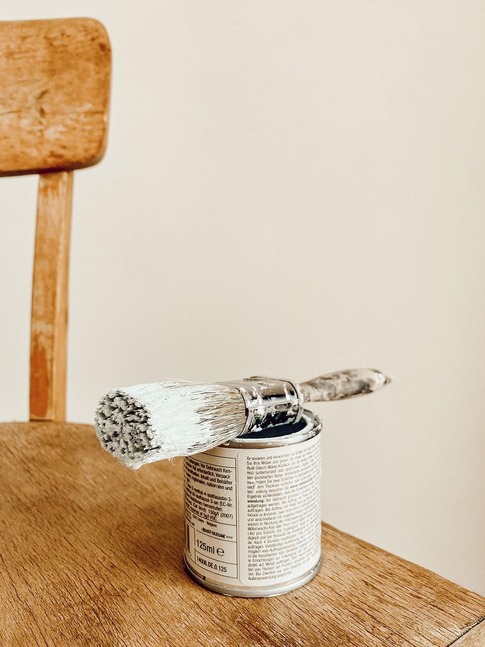 Anleitung Möbel selber streichen einfach
