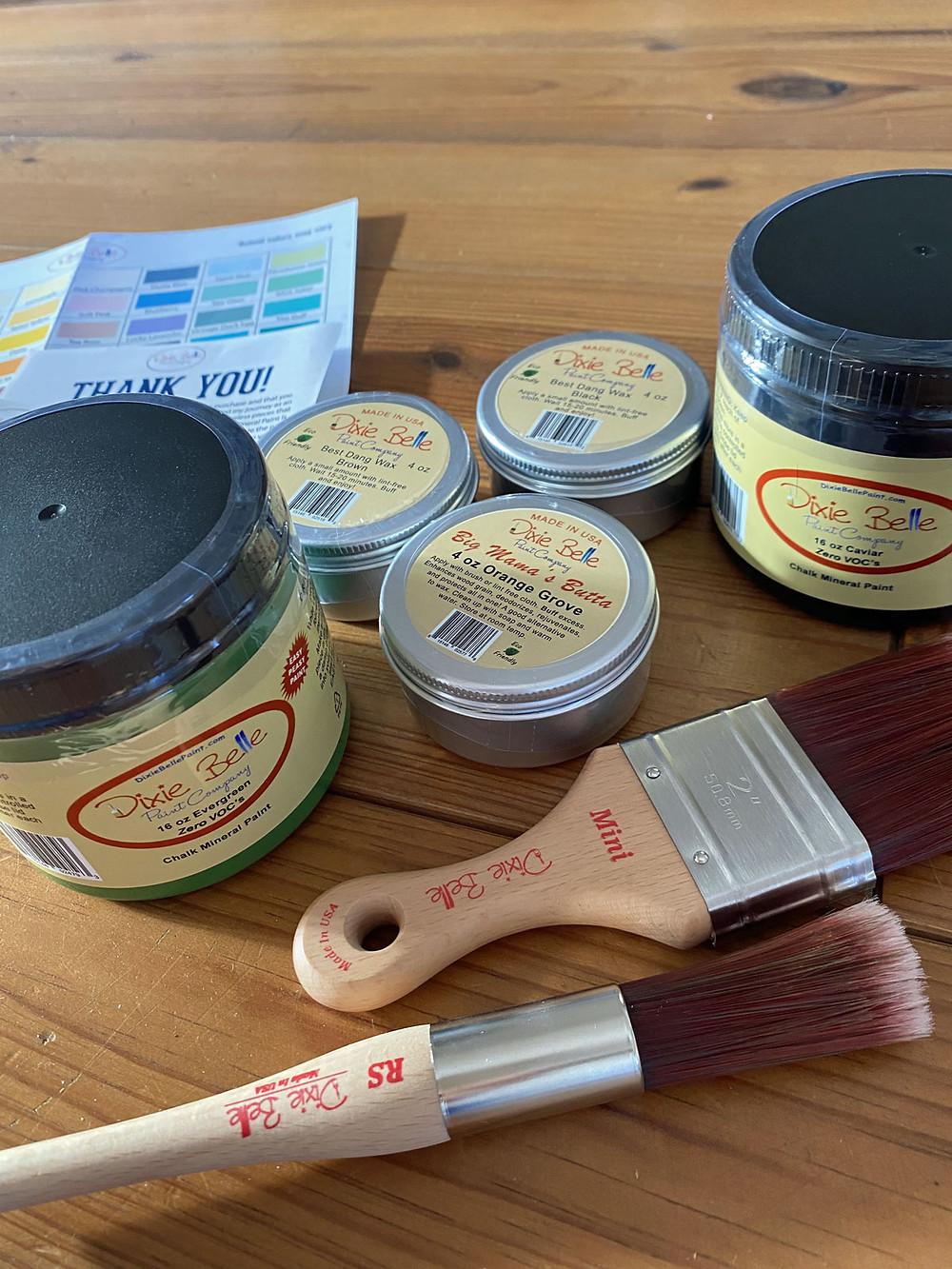 Dixie Belle Paint Kreidefarbe aus USA im Test bei gonepaintin