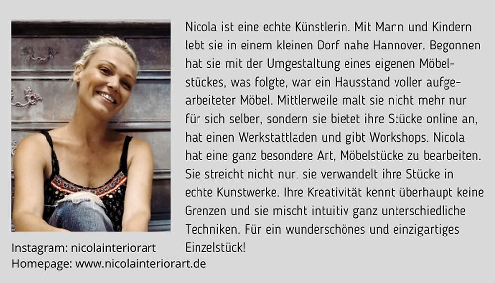 Nicola Bunke Nicolasinteriorart Bio
