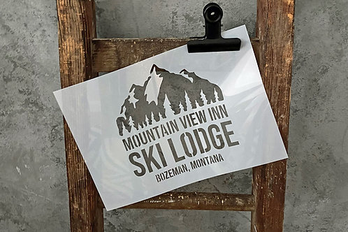 Schablone Ski Lodge