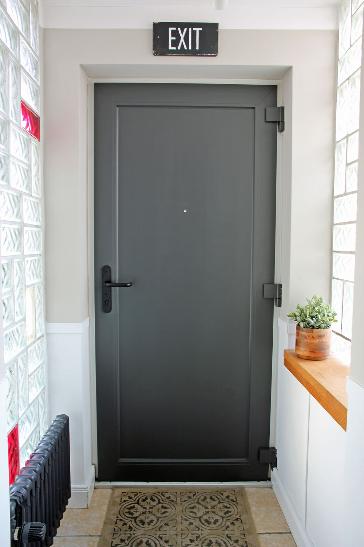 Tür streichen mit Kreidefarbe von Painting the Past