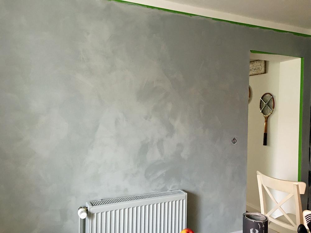 Pure and Original Kalkfarbe Fresco für die Wand