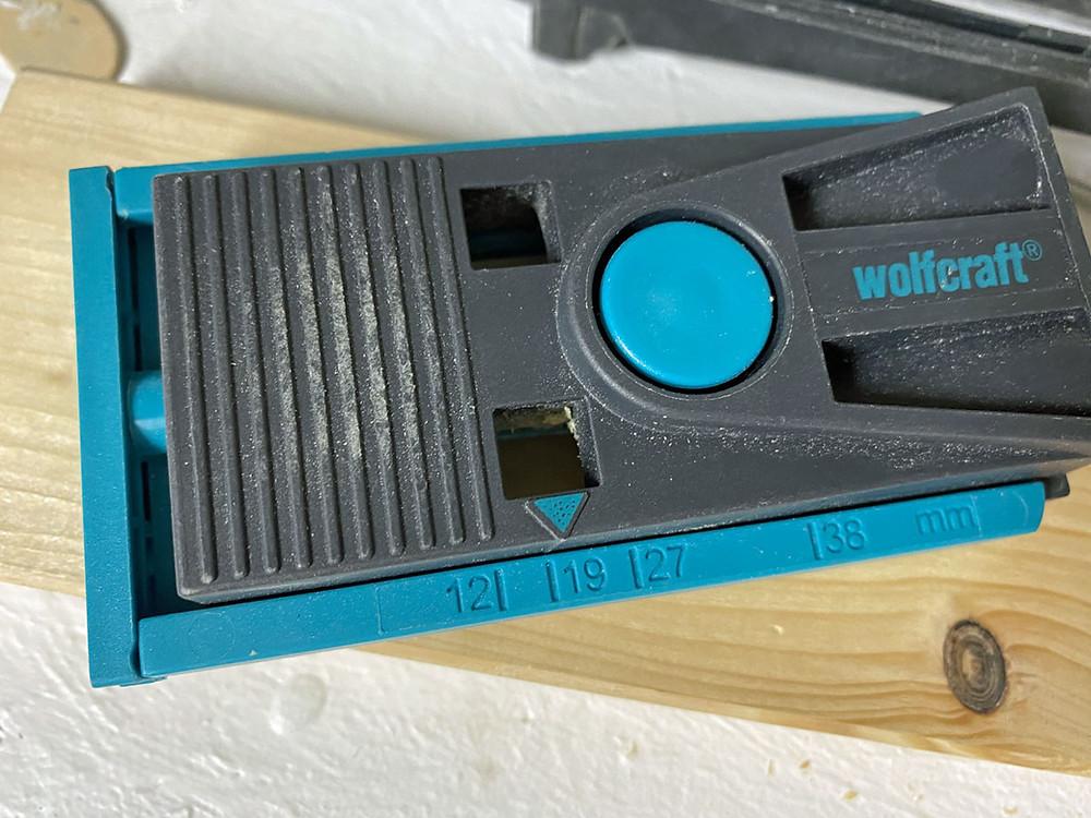 Wolfcraft Undercover Jig Set für Taschenbohrung