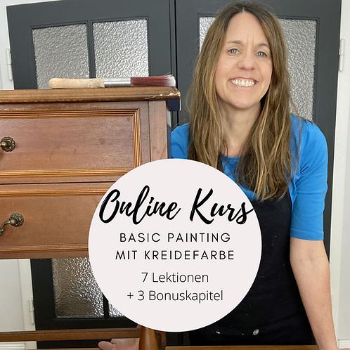 "Online-Kurs ""Basic Painting"""