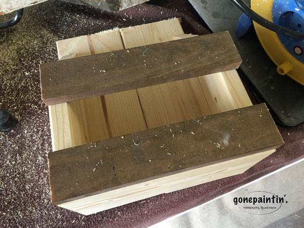 Organizer aus Holz selber bauen