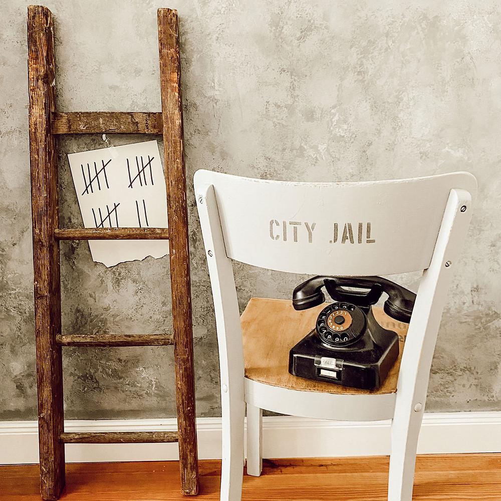 neue Optik für alten Stuhl upcycling