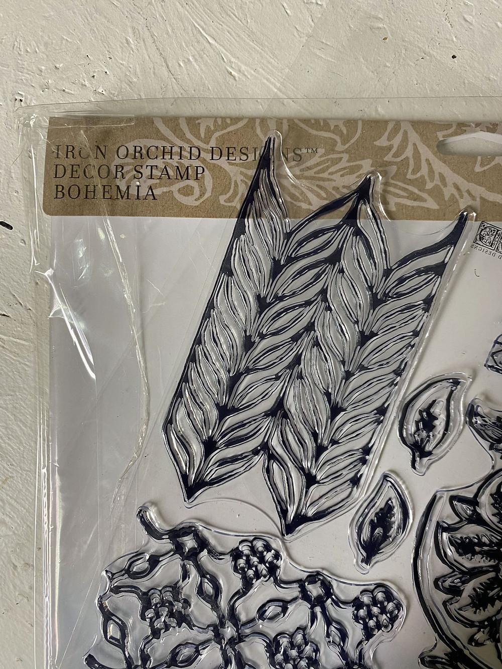 IOD Stamp Bohemia Möbel stempeln