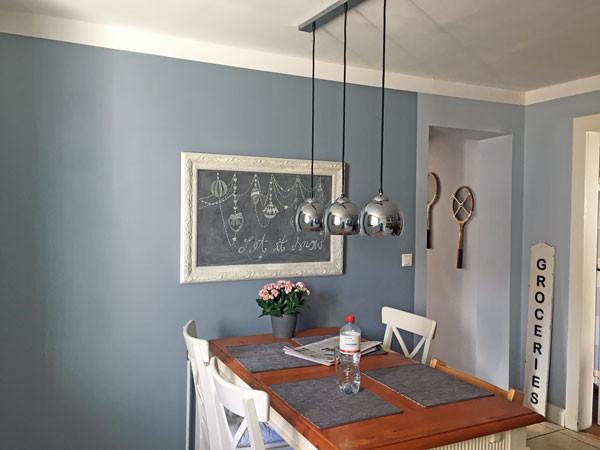 Fresco Kalkfarbe für die Wand
