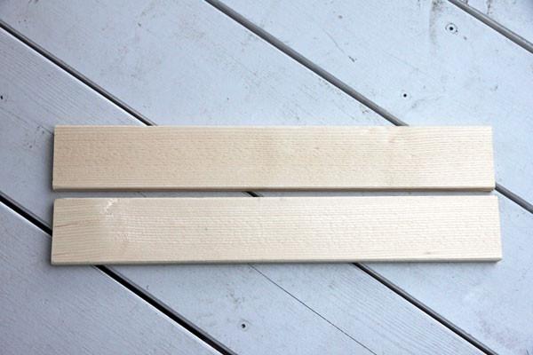 DIY Holzschild im Landhausstil