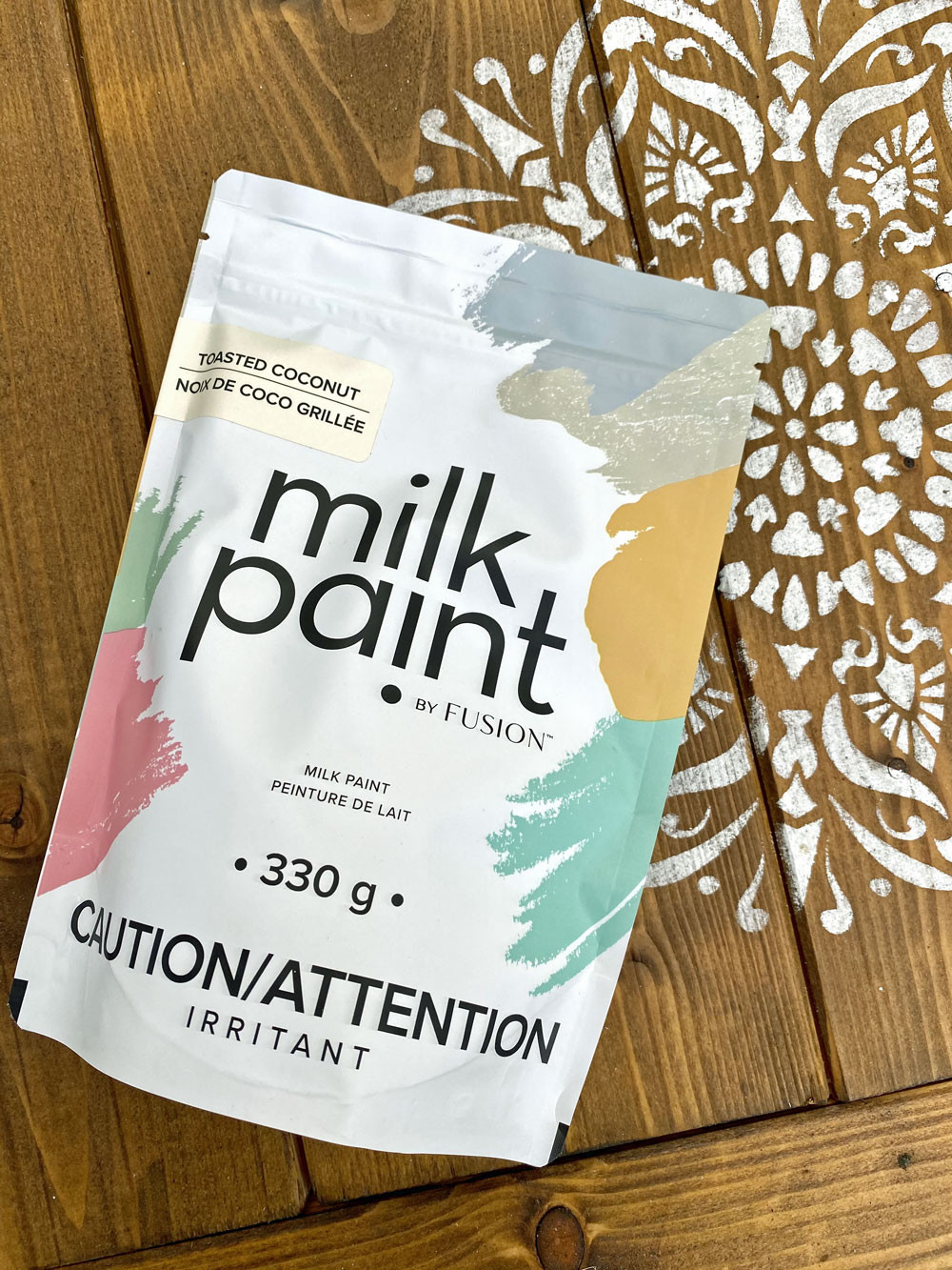 Streichen mit Milk Paint by Fusion - für ein authentisches shabbby chic Ergebnis