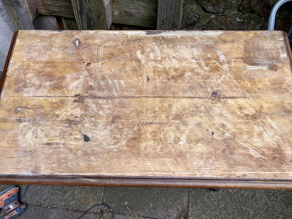 Deckplatte ohne Furnier