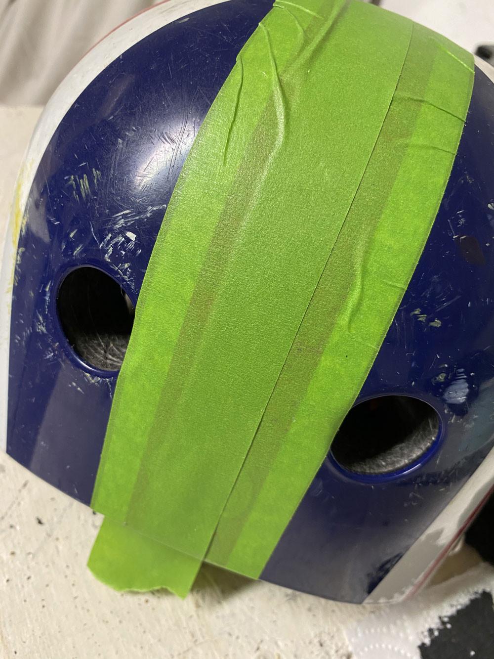 Helm streichen gonepaintin
