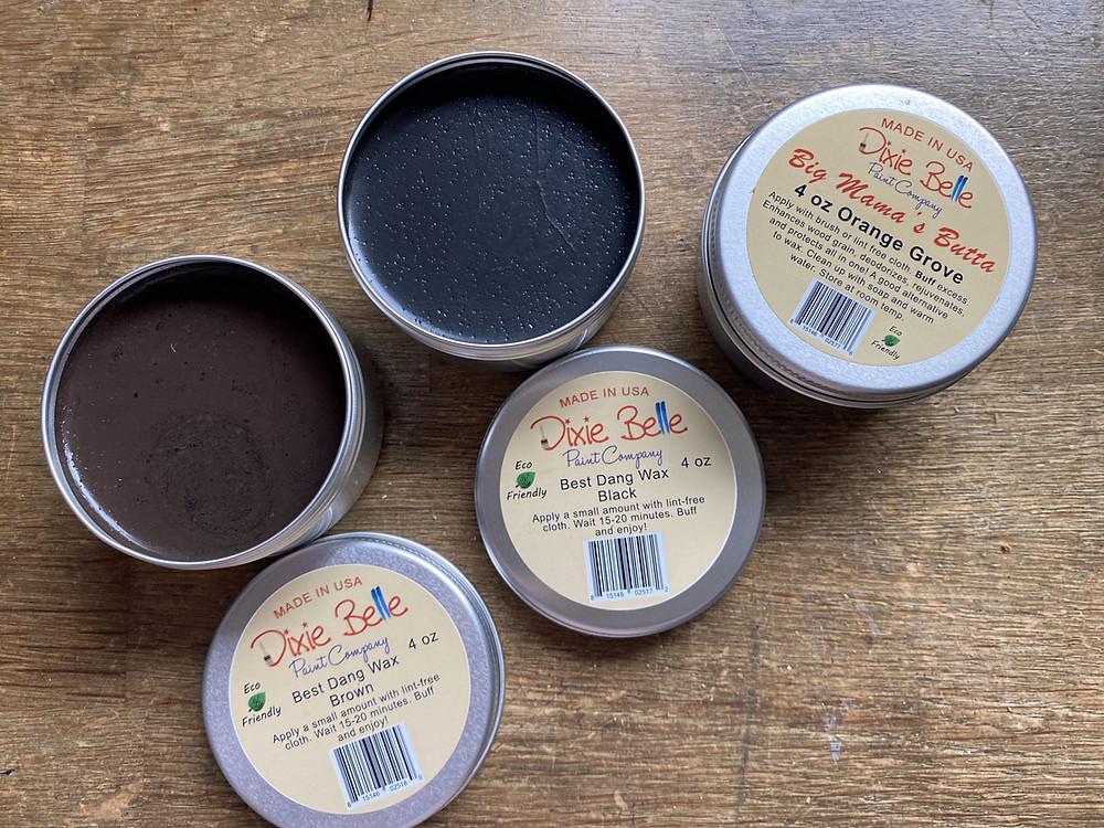 Dixie Belle Paint Wachs im Test bei gonepaintin