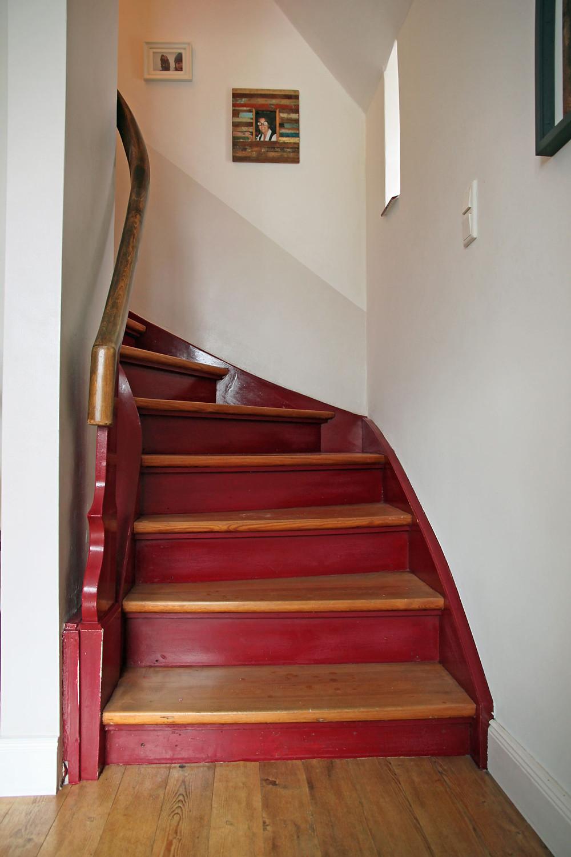 alte treppe streichen