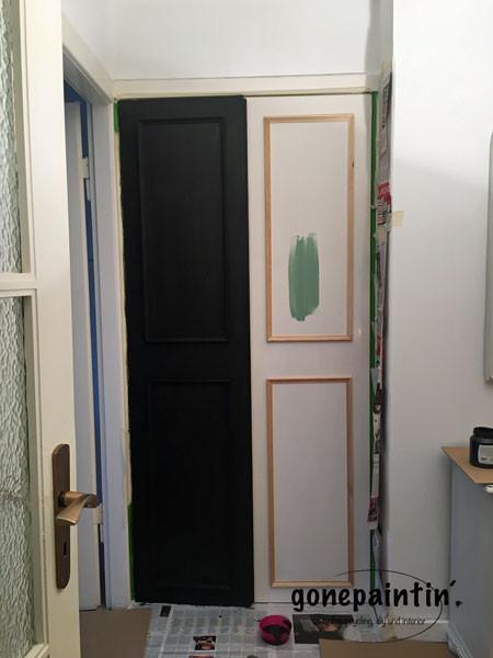 Tür streichen mit Fusion Mineral Paint