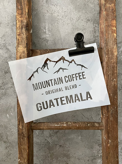 Schablone Guatemala