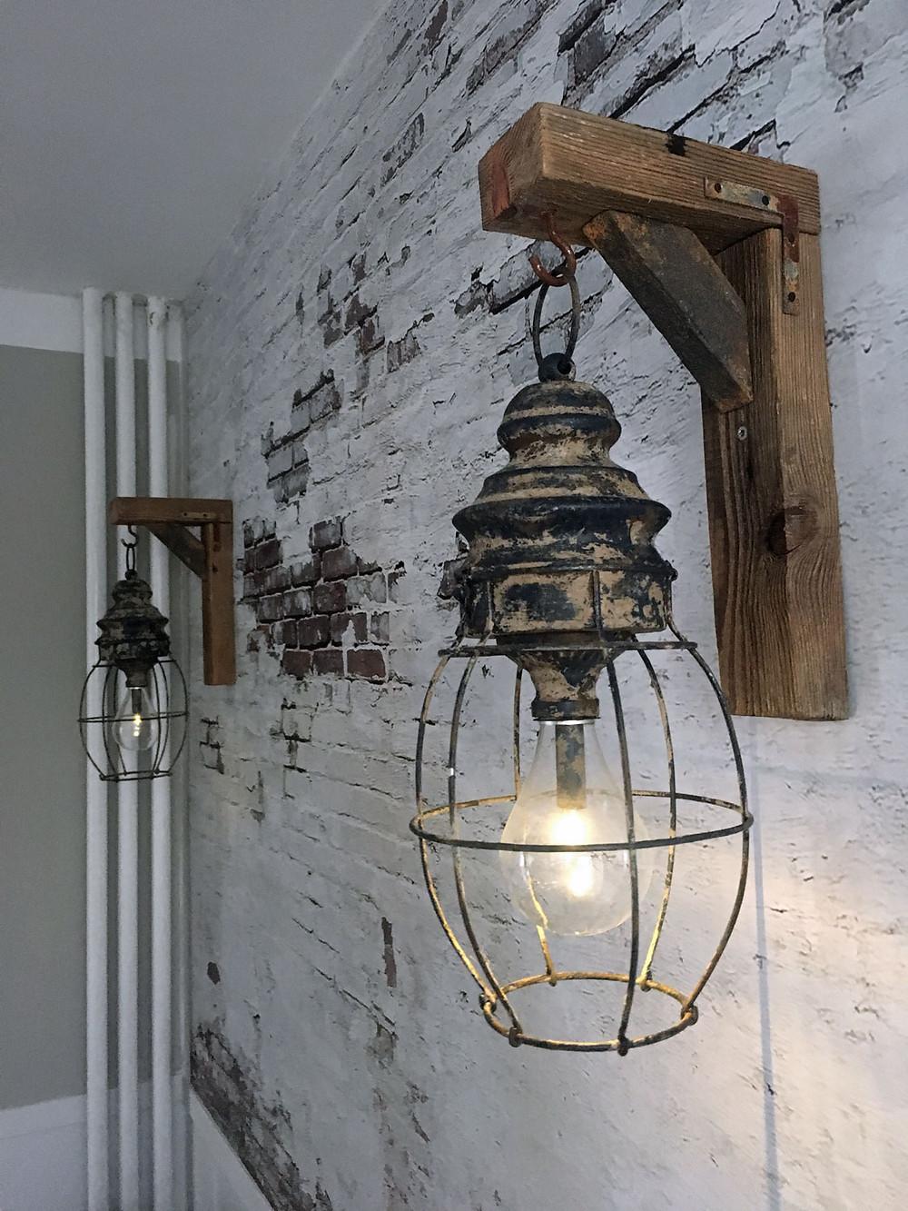 DIY Lampenhalter im Farmhouse Stil selber bauen