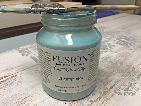 Fusion Mineral Paint champness für Möbel streichen