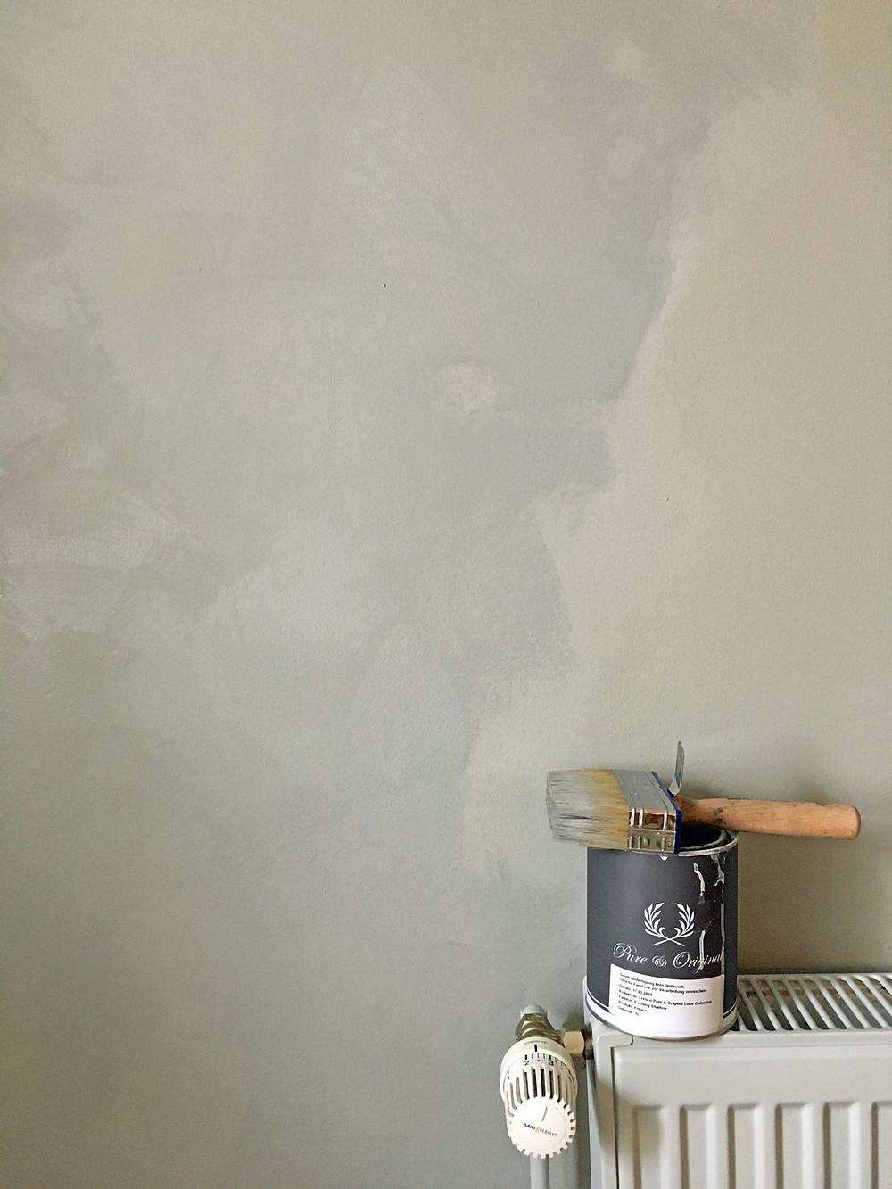 Wände richtig streichen mit Kalkfarbe