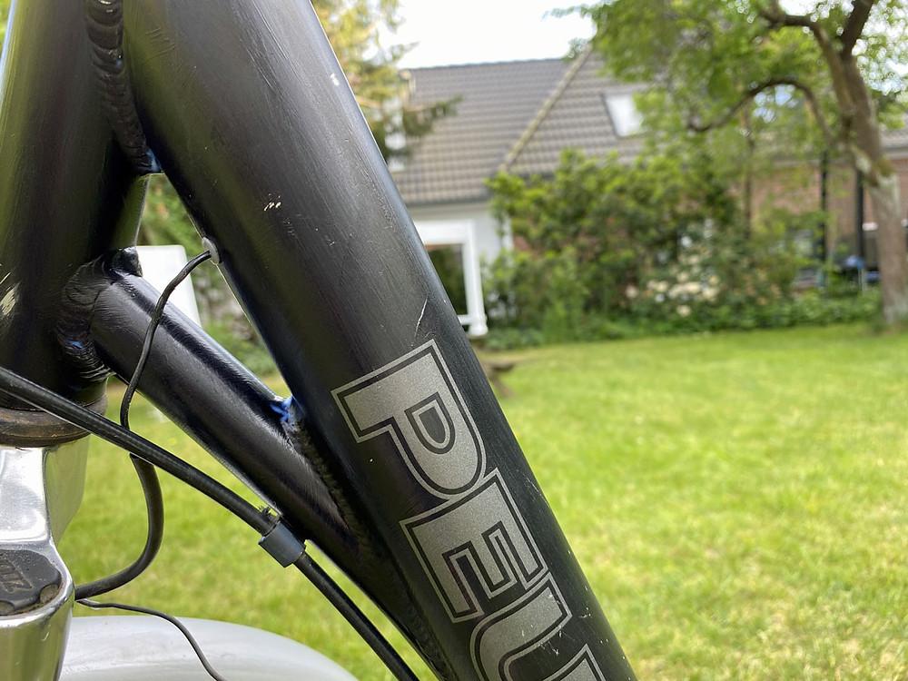 Fahrrad streichen Grundierung